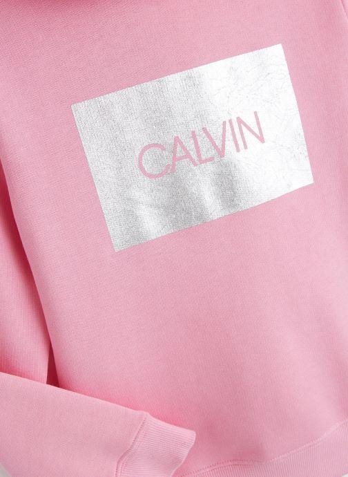 Vêtements Calvin Klein Calvin Silver Box Te Rose vue portées chaussures
