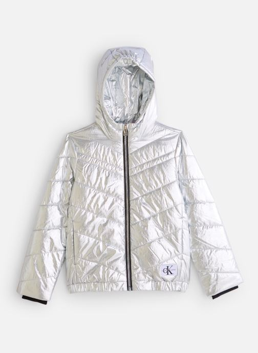 Vêtements Calvin Klein Silver Light Hood Bo Argent vue détail/paire