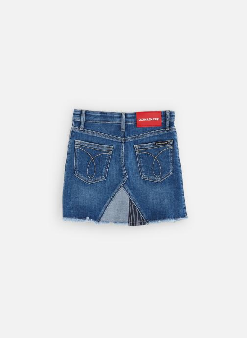 Vêtements Calvin Klein A-Line Patchwork Com Bleu vue bas / vue portée sac