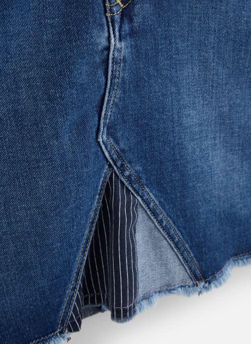Vêtements Calvin Klein A-Line Patchwork Com Bleu vue portées chaussures