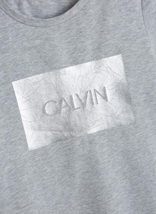 Vêtements Calvin Klein Calvin Box Slim Fit Gris vue portées chaussures