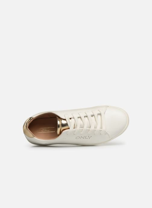 Trainers ONLY ONLSILJAPU SNEAKER2 White view from the left