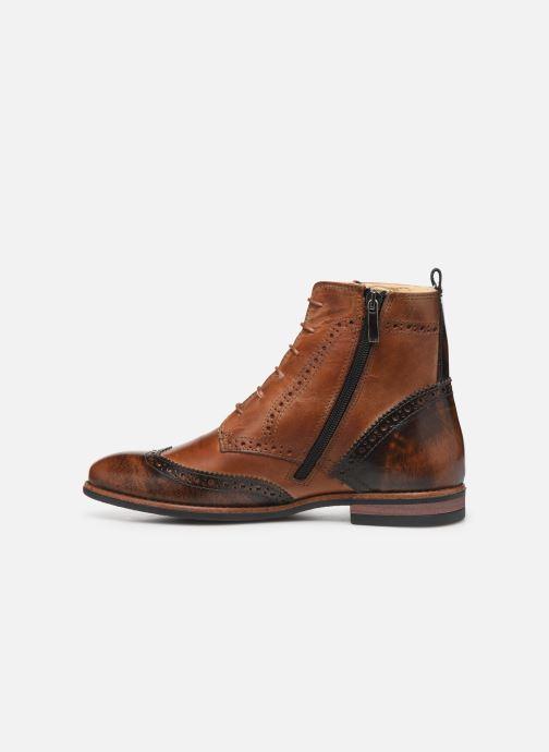 Boots en enkellaarsjes Georgia Rose Narciso fourrée Bruin voorkant