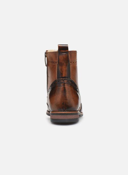 Bottines et boots Georgia Rose Narciso fourrée Marron vue droite