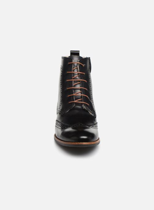 Bottines et boots Georgia Rose Narciso fourrée Noir vue portées chaussures