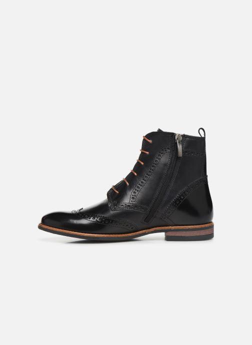 Bottines et boots Georgia Rose Narciso fourrée Noir vue face