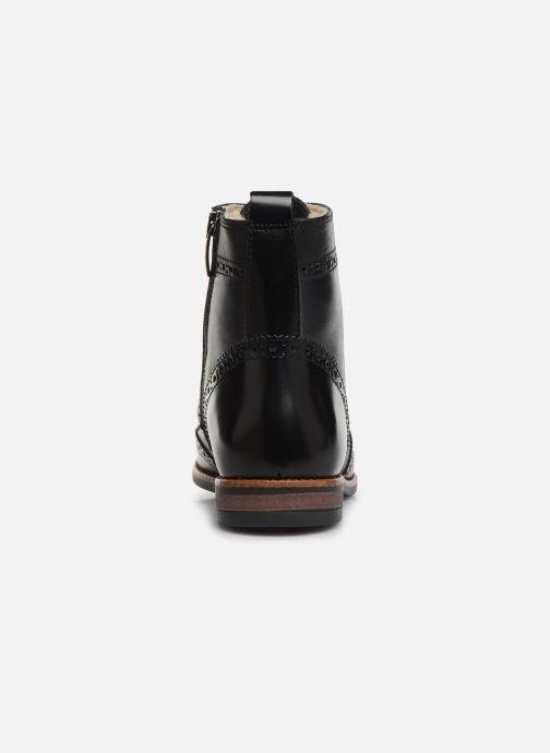 Bottines et boots Georgia Rose Narciso fourrée Noir vue droite