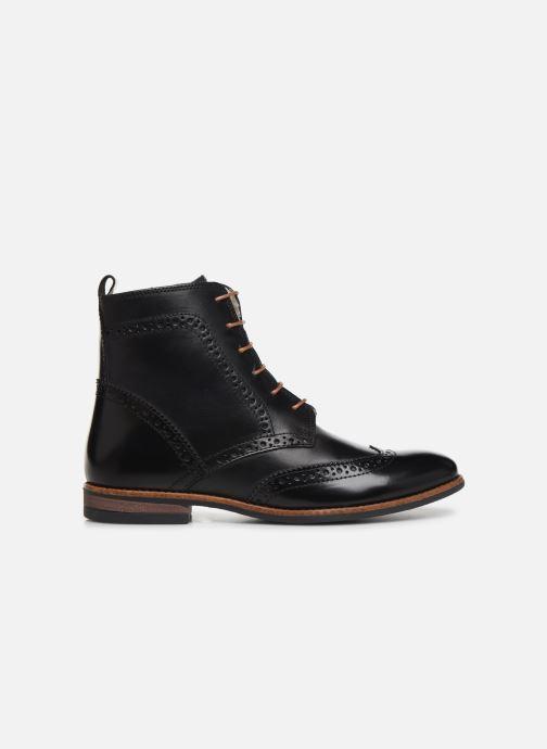 Bottines et boots Georgia Rose Narciso fourrée Noir vue derrière
