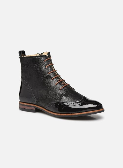 Bottines et boots Georgia Rose Narciso fourrée Noir vue détail/paire
