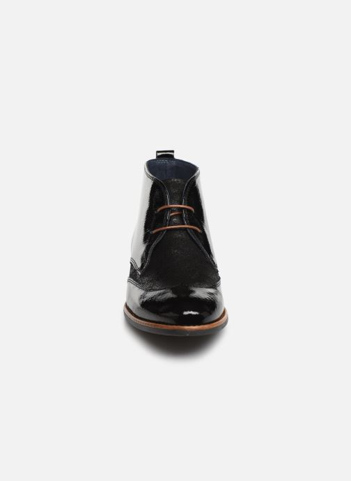 Bottines et boots Georgia Rose Nazario Noir vue portées chaussures