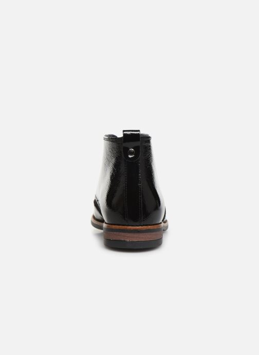 Bottines et boots Georgia Rose Nazario Noir vue droite