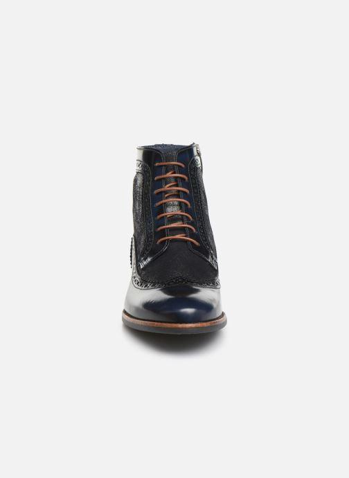 Bottines et boots Georgia Rose Natalo Bleu vue portées chaussures