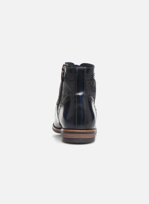 Bottines et boots Georgia Rose Natalo Bleu vue droite