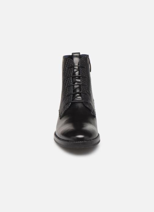 Bottines et boots Georgia Rose Nelario Noir vue portées chaussures
