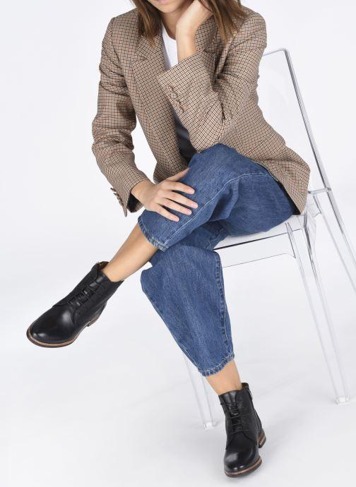 Stiefeletten & Boots Georgia Rose Nelario schwarz ansicht von unten / tasche getragen