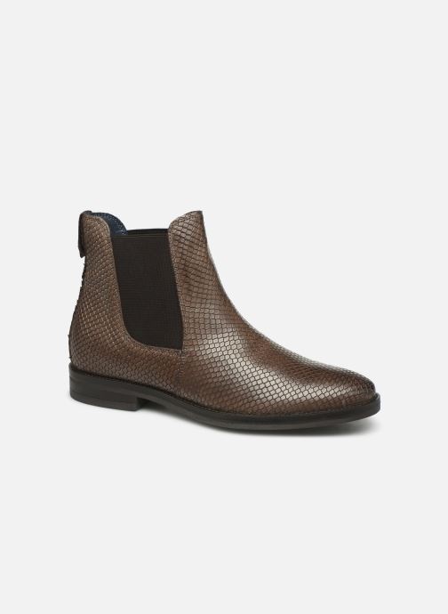 Bottines et boots Georgia Rose Nomusa Marron vue détail/paire
