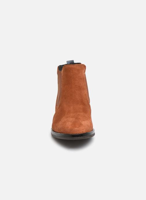 Bottines et boots Georgia Rose Nucrosti Marron vue portées chaussures