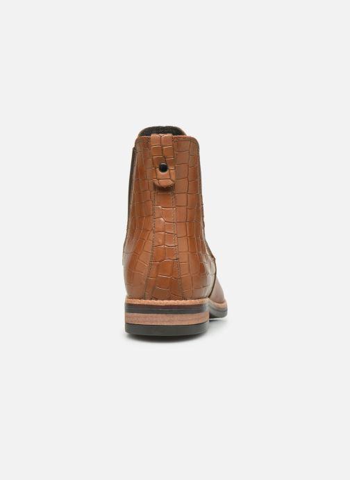 Bottines et boots Georgia Rose Nicla Marron vue droite