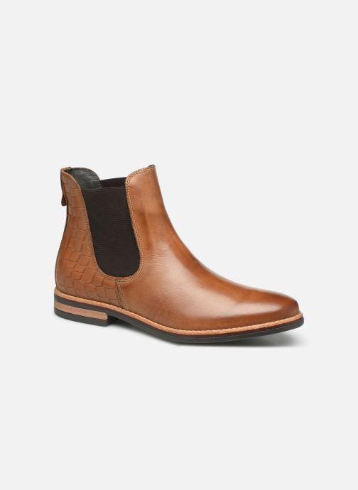 Bottines et boots Georgia Rose Nicla Marron vue détail/paire