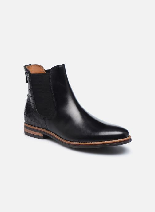 Bottines et boots Georgia Rose Nicla Noir vue détail/paire