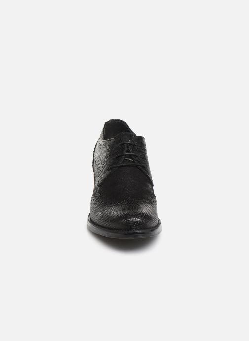 Zapatos con cordones Georgia Rose Nepriana Negro vista del modelo