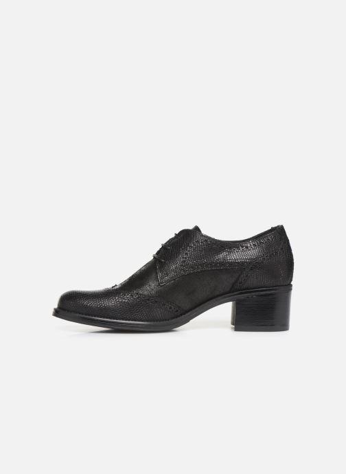 Zapatos con cordones Georgia Rose Nepriana Negro vista de frente