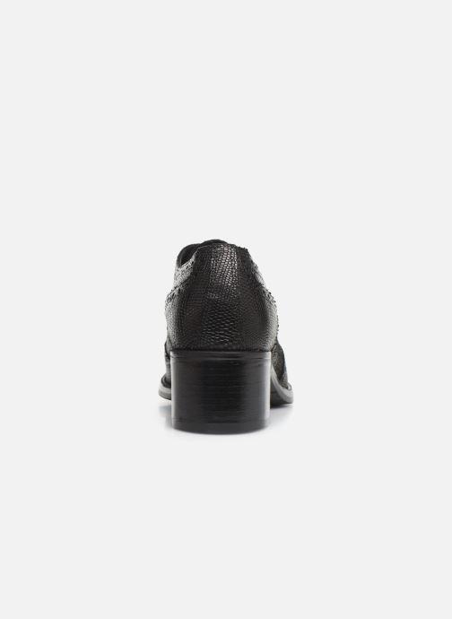Zapatos con cordones Georgia Rose Nepriana Negro vista lateral derecha
