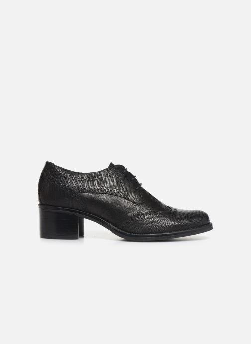 Zapatos con cordones Georgia Rose Nepriana Negro vistra trasera