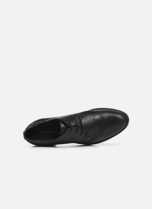 Zapatos con cordones Georgia Rose Nepriana Negro vista lateral izquierda