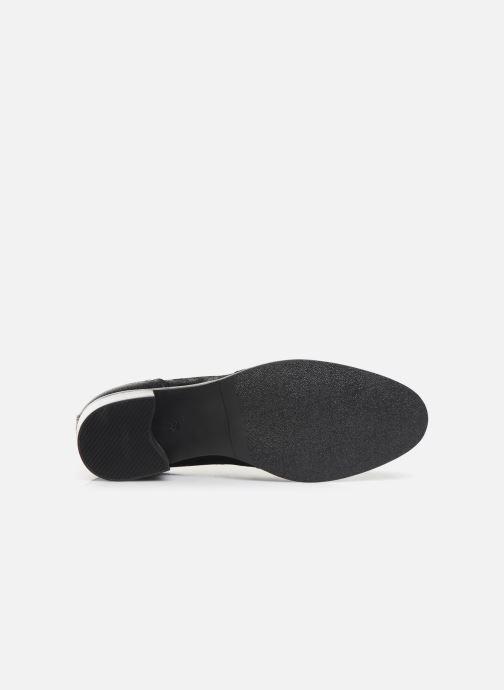Zapatos con cordones Georgia Rose Nepriana Negro vista de arriba