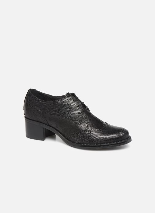 Zapatos con cordones Georgia Rose Nepriana Negro vista de detalle / par