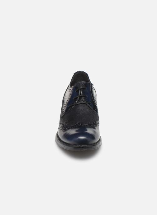 Chaussures à lacets Georgia Rose Nepriana Bleu vue portées chaussures