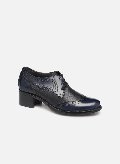 Chaussures à lacets Georgia Rose Nepriana Bleu vue détail/paire