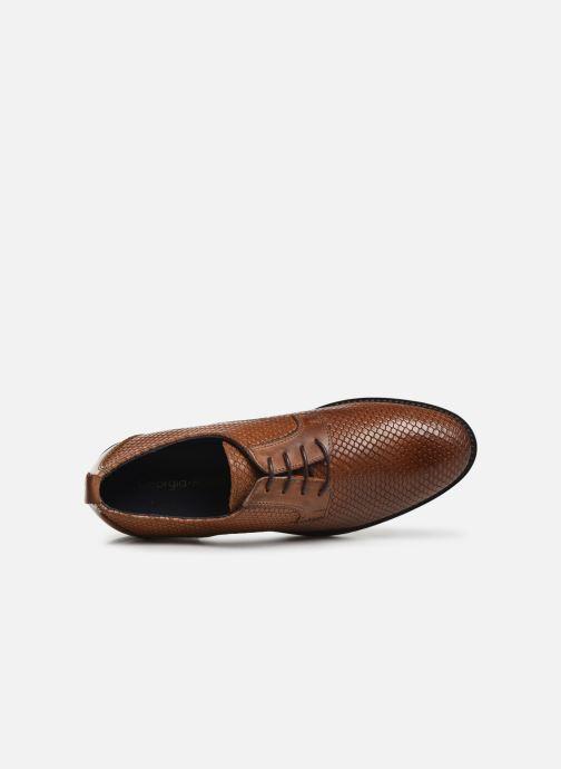 Chaussures à lacets Georgia Rose Nipiton Marron vue gauche