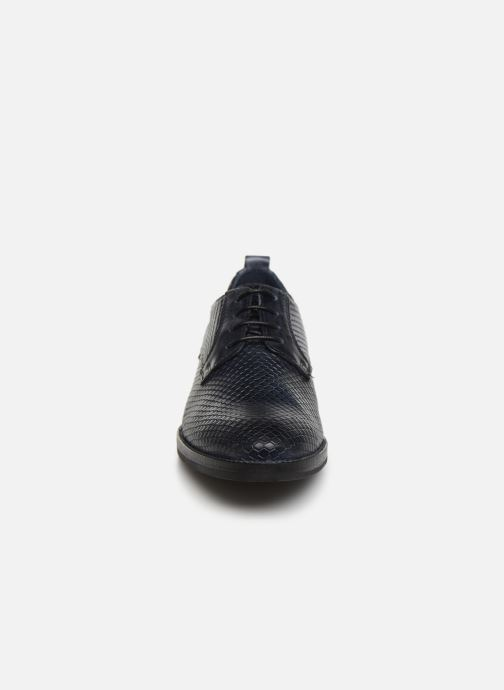 Chaussures à lacets Georgia Rose Nipiton Bleu vue portées chaussures