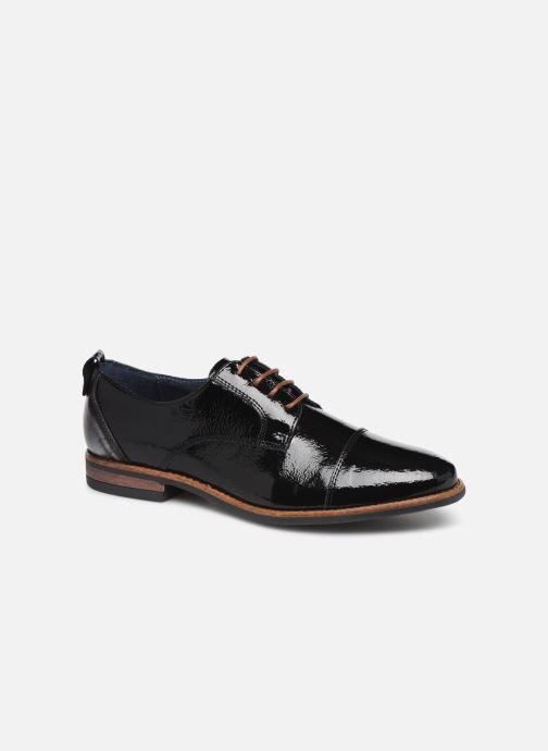 Chaussures à lacets Georgia Rose Nisavamet Noir vue détail/paire
