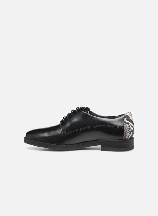 Chaussures à lacets Georgia Rose Nisnake Noir vue face