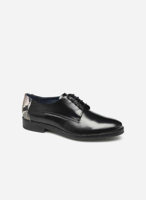 Chaussures à lacets Georgia Rose Nisnake Noir vue détail/paire