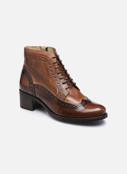 Bottines et boots Georgia Rose Norivo Marron vue détail/paire