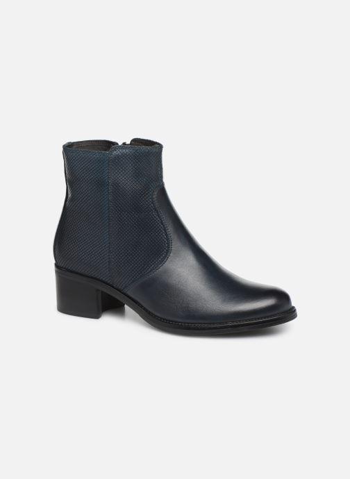 Bottines et boots Georgia Rose Nutilo Bleu vue détail/paire