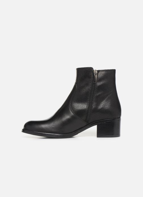 Bottines et boots Georgia Rose Nutilo Noir vue face