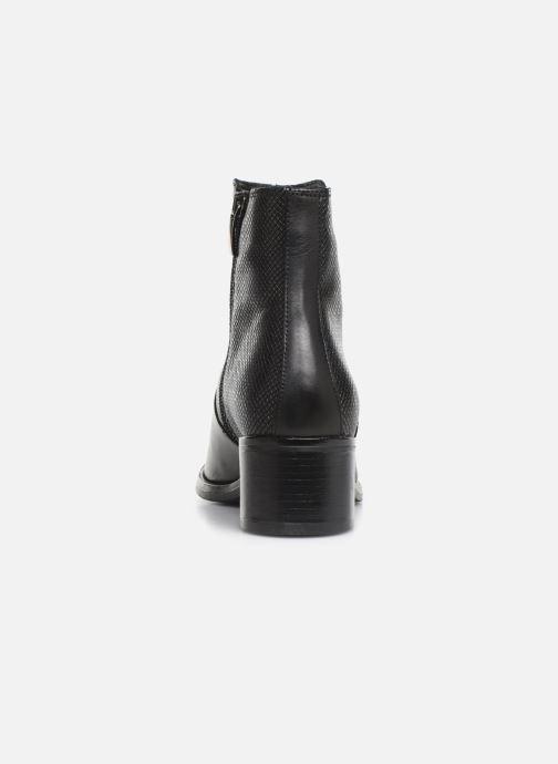 Bottines et boots Georgia Rose Nutilo Noir vue droite