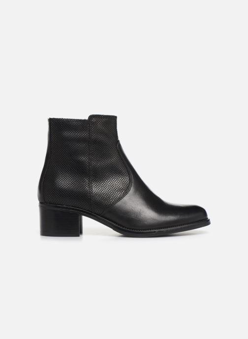 Bottines et boots Georgia Rose Nutilo Noir vue derrière