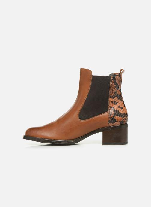 Bottines et boots Georgia Rose Nusnaka Marron vue face