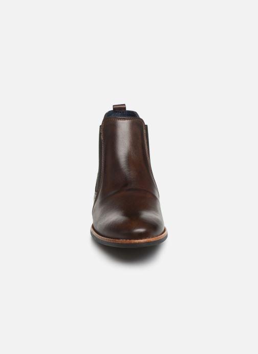 Bottines et boots Georgia Rose Numeg Marron vue portées chaussures