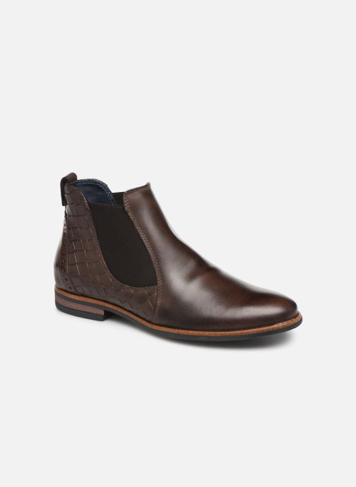 Bottines et boots Georgia Rose Numeg Marron vue détail/paire