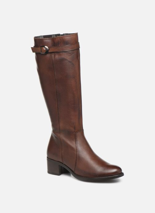 Boots & wellies Georgia Rose Nouchoc Brown detailed view/ Pair view