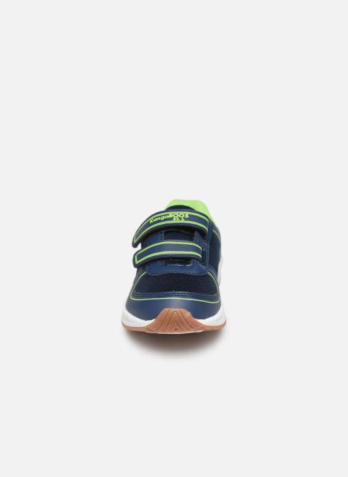 Chaussures de sport Kangaroos Sinu V Noir vue portées chaussures