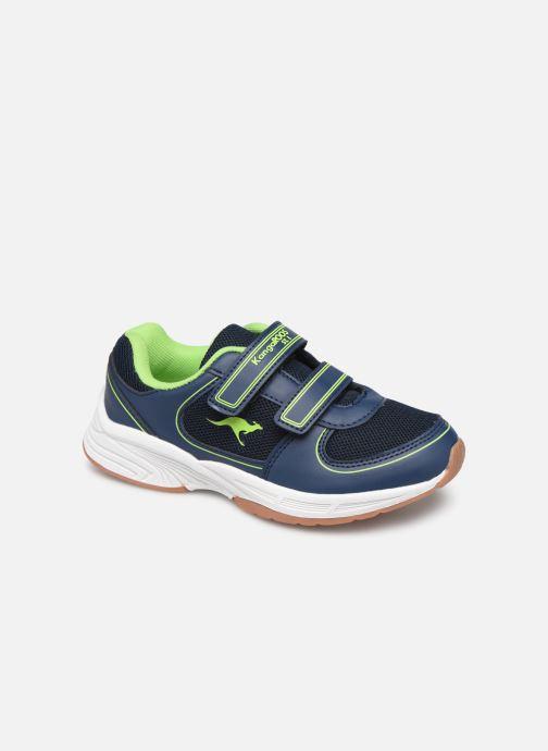 Chaussures de sport Kangaroos Sinu V Noir vue détail/paire