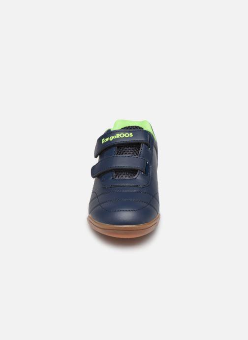 Chaussures de sport Kangaroos Courtyard V Bleu vue portées chaussures